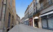 Rue du Bourg vue depuis l'office du tourisme - Dijon 3d - Lornet-Design 2010